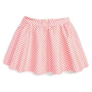 KATE SPADE Coreen Neon Polka Dot Skirt NWT